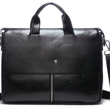 Men Tote Bag Leather Casual Shoulder Bags [6581354375]