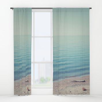 The Calm Window Curtains by Faded  Photos