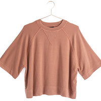 Tencel Cropped Pullover