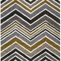 Rizzy Home Rockport RP8827 Multi-Colored Chevron Area Rug