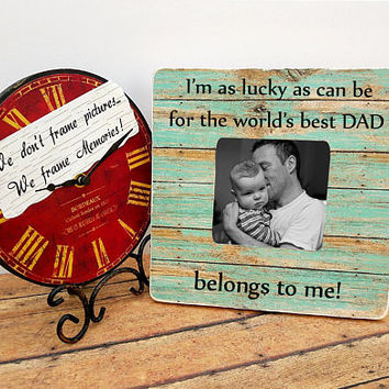 Dad photo frame, Father's day gift