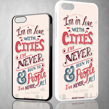 john green, paper towns X1201 iPhone 4S 5S 5C 6 6Plus, iPod 4 5, LG G2 G3 Nexus 4 5, Sony Z2 Case
