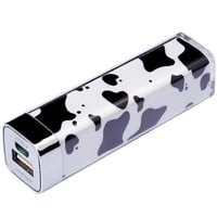 Elivebuy Nature Series [Upgrade Version] 2500mah Portable External Battery Pack Charger Power Bank for Apple: Iphone 5 4s 4 3gs Ipod ; Samsung Galaxy S4 S3 S2; Google Nexus 4; HTC One - Milk Cow