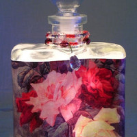 Rose Trio Perfume Bottle Nightlight ( Night Light )