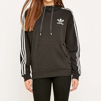 adidas 3 Stripe Hoodie - Urban Outfitters