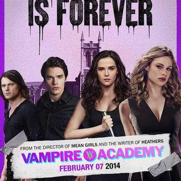 Vampire Academy 11x17 Movie Poster (2014)