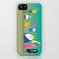 Adventure time characters iPhone & iPod Case by Maria Jose Da Luz