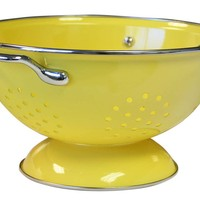One Kings Lane - Cook in Color - 3 Qt Colander, Lemon
