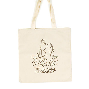 Editorial Mag Clay Hickson Tote Bag