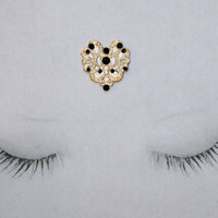 Heart of Gold - Goddess Bindi - Third Eye Jewelry