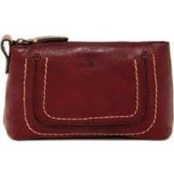 Frye Anna Leather Travel Pouch - Multiple Colors