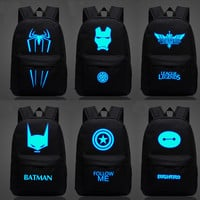 Superhero Luminous BackPacks