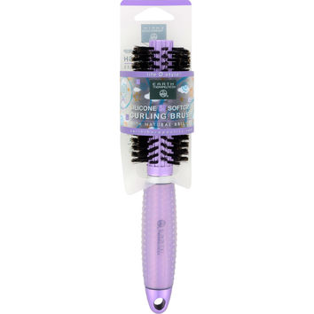 Earth Therapeutics Hair Brush - Curling - Lavender - 1 Count