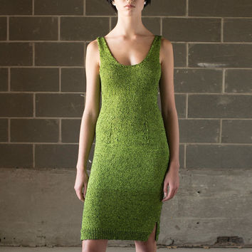 Hand Knit Acid Dress