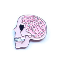Inside My Brain Enamel Pin