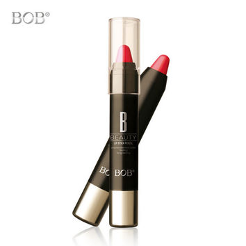 New Hot BOB High Quality Color Lipstick Makeup Long-lasting Waterproof Lipstick Cosmetic