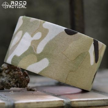 Military Camouflage Self-Cling Protective Camouflage Wrap Adhesives Camo Bandage Gun Bow Tape for Hunting Airsoft CP Multicam