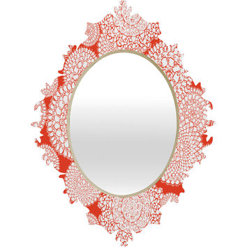 Heather Dutton Delightful Doilies Saffron Baroque Mirror