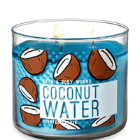 COCONUT WATER3-Wick Candle