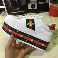 GUCCI Women peal Fashion Casual Sneakers Shoes Best Quality