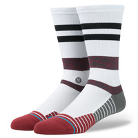 Stance Tidal Socks In White