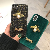 LV : print phone shell phone case for Iphone 6/6s/6p/7p/7/8/8p/X