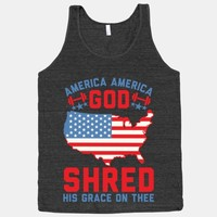America America God Shred His Grace On Thee