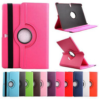 360 Rotating Case For Samsung Galaxy Tab S 10.5 T800 T801 T805 LTE Tablet PU Leather Case Stand Rotating Cover Free Stylus Pen
