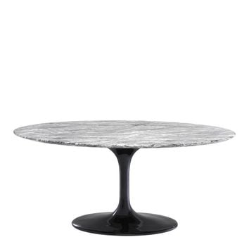 Grey Marble Dining Table | Eichholtz Solo