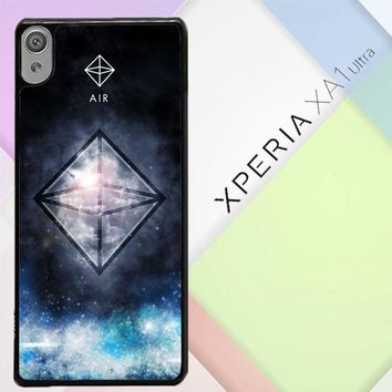 Sacred Geometry Symbol For Air L1283 Sony Xperia XA1 Ultra Case