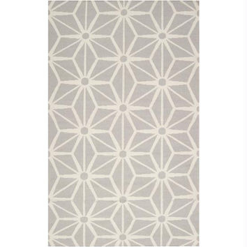 Accent Throw Rug - Light Gray, Winter White