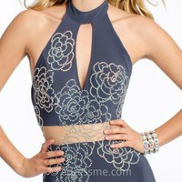 Jersey Studded Rosette Prom Dresses by Jovani Exclusive Collection for eDressMe