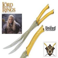 The Lord of the Rings Legolas Fighting Knives Swords