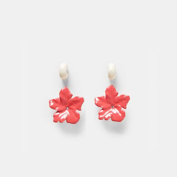 PACK OF FLOWER AND HOOP EARRINGS DETAILS