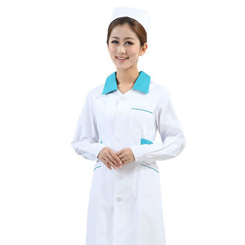 Nurse Uniform Hospital Lab Coat Korea Style Women Hospital Medical Scrub Clothes Uniform Fashion Design Breathable Work Wear