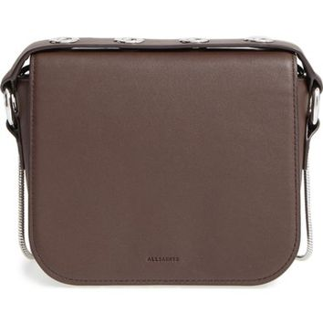 ALLSAINTS 'Ikuya' Leather Clutch | Nordstrom