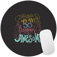 Awesome Mouse Pad Decal