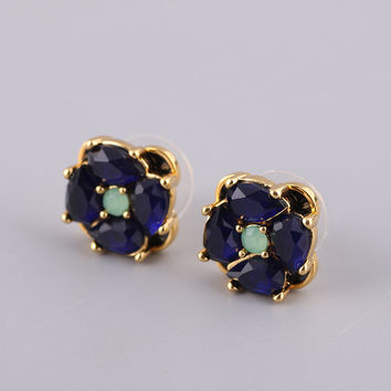 Accessory Diamonds Crystal Gemstone Earring Jewelry [6573089031]