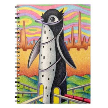 Penguin Station Notebook