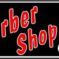 Barber Shop Bright Electric Window Sign