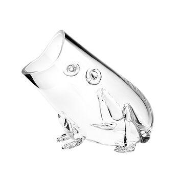 Crystal Standing Frog 10""