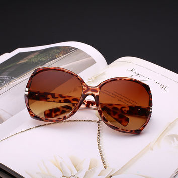 Hollow Out Ladies Uv Proof Fashion Sunglasses [11405238351]