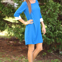 Off The Cuff Dress, Royal