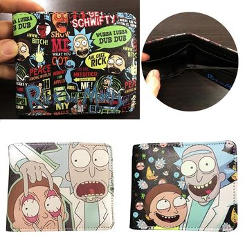 Rick and Morty Wallets