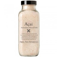 Açaí Berry Antioxidant Bath Salts with Rosemary, Grapefruit and Lime Essential Oils
