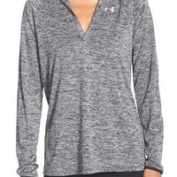 Under Armour 'Twist' Split Neck Hoodie | Nordstrom