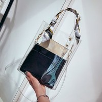 Buy Nautilus Bags Set: Transparent Tote Bag + Pouch | YesStyle