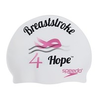 Speedo Breaststroke 4 Hope Swim Cap at SwimOutlet.com