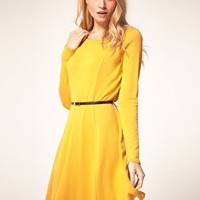 Oasis | Oasis Fit N Flare Dress Exclusive To Asos at ASOS