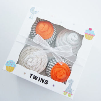 Twin Boy Baby Gift 12 piece set  - Twins Gift - Boy twins gift - 3 month - Daddy's best friend